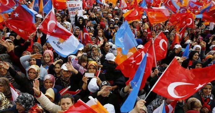 土耳其执政党在议会选举中胜出 - ảnh 1
