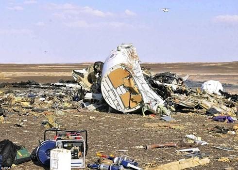 在埃及坠毁的俄罗斯客机未受外部攻击 - ảnh 1
