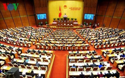 越南国会讨论《临时拘押、监禁法(草案)》 - ảnh 1