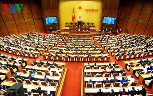 越南国会继续讨论国家经济社会发展情况 - ảnh 1