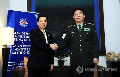 中韩加强军事合作 - ảnh 1