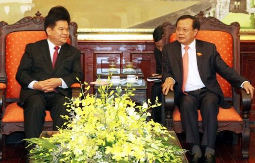 加强河内与中国云南省的合作关系 - ảnh 1