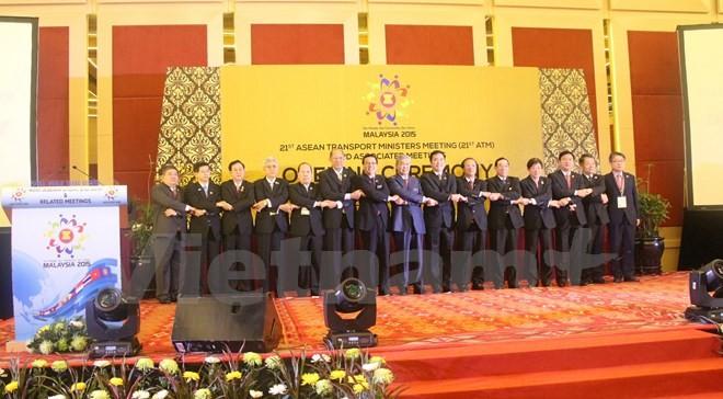 越南出席第21届东盟交通部长会议 - ảnh 1