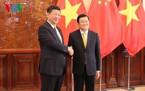 越南与中国巩固和加强全面战略合作伙伴关系 - ảnh 1