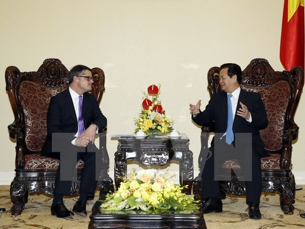 阮晋勇总理:越南与德国推动两国所有领域关系发展 - ảnh 1