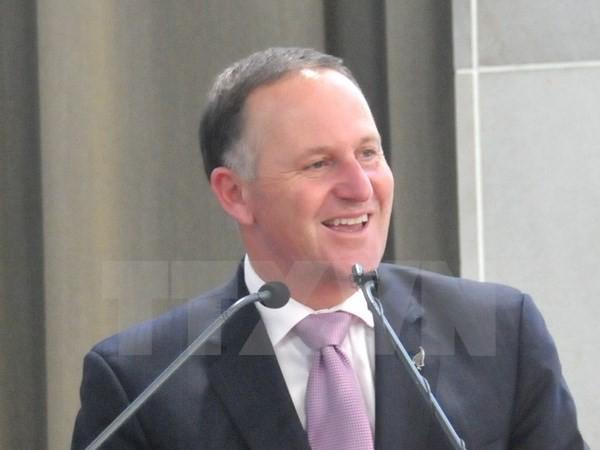 新西兰总理约翰•基本周对越南进行正式访问 - ảnh 1