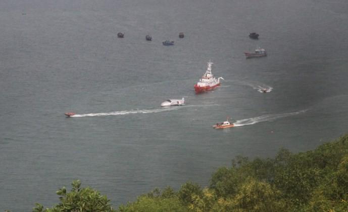 越南举行历来规模最大的航空搜救演习 - ảnh 1