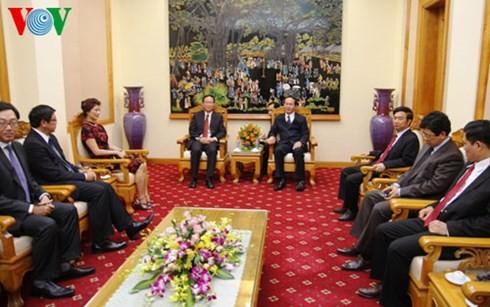 推动越南公安部与新加坡内政部合作关系深入发展 - ảnh 1