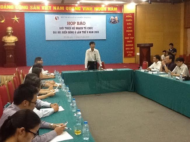 越南承办第五次东亚海洋大会 - ảnh 1