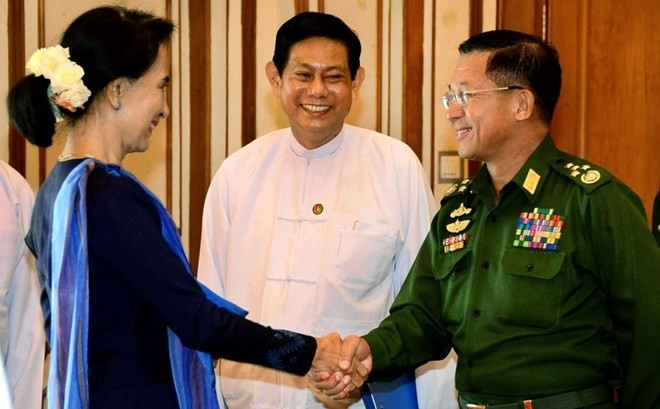 缅甸政府承诺确保选举后的和平稳定 - ảnh 1