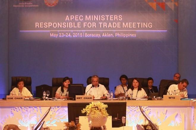 APEC部长级会议在菲律宾开幕 - ảnh 1