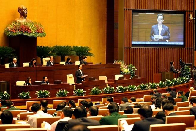 越南十三届国会十次会议质询活动的革新 - ảnh 1