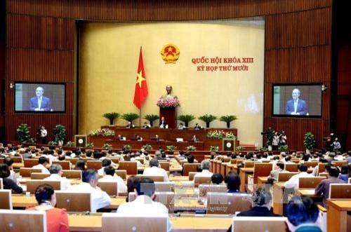 越南选民高度评价国会质询和回答质询活动形式革新 - ảnh 1