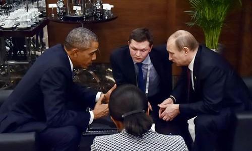 奥巴马和普京在G20峰会期间举行会晤 - ảnh 1