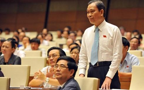 越南选民高度评价各部长在质询活动中的表现 - ảnh 1