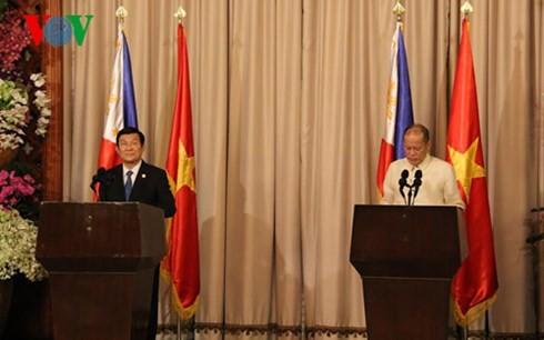 越南与菲律宾建立战略伙伴关系 - ảnh 1