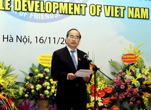 越友联举行外国非政府组织表彰会 - ảnh 1
