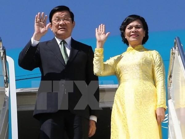 张晋创出席APEC峰会 - ảnh 1