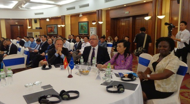 越南—欧盟卫生领域合作20周年纪念仪式在河内举行 - ảnh 1