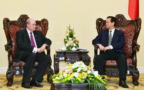 越南政府总理阮晋勇会见古巴外贸外资部长罗德里格·马尔米耶卡 - ảnh 1