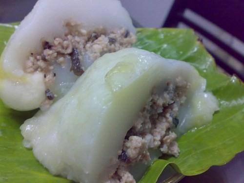 兴安省文江县的民间食品——籼米饼 - ảnh 2