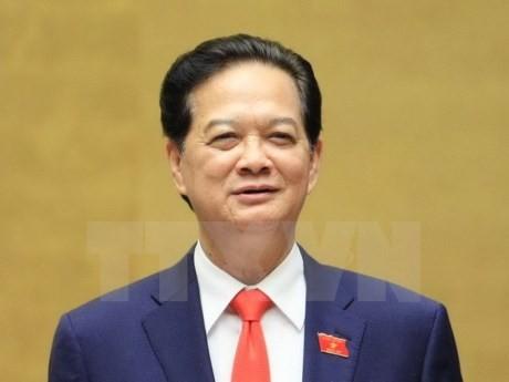 阮晋勇总理抵达马来西亚首都吉隆坡 - ảnh 1