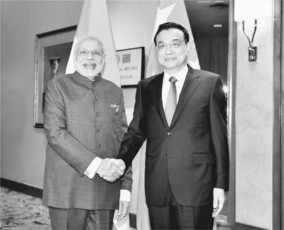 中国与印度促进双边关系 - ảnh 1