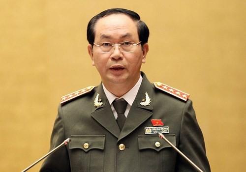 陈大光大将视察广平省 - ảnh 1