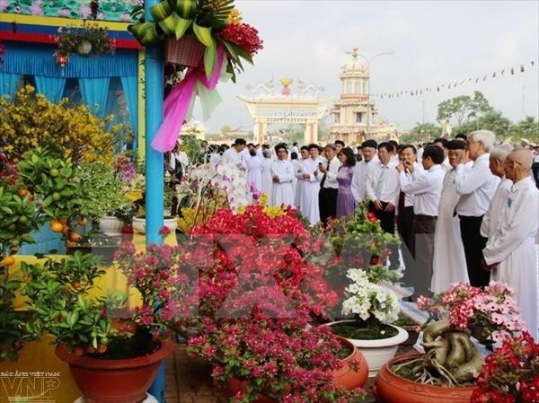 越南高台教一向与国家的发展同行 - ảnh 1