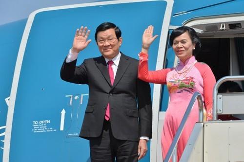越南国家主席张晋创对德国进行国事访问 - ảnh 1