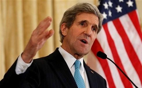 """美国国务卿克里担心以巴冲突""""失控"""" - ảnh 1"""