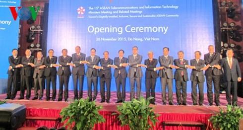 东盟电信与信息技术部长会议在岘港市开幕 - ảnh 1