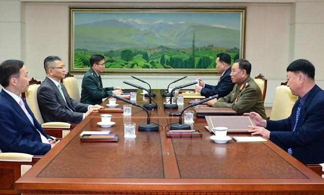 韩朝一致同意举行副部长级会谈 以改善双方关系 - ảnh 1