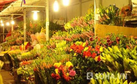 广霸花卉夜市——河内市的独特集市 - ảnh 1