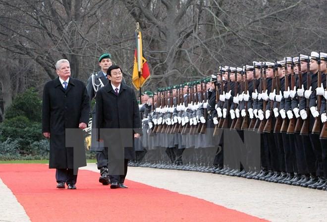 越南国家主席张晋创访德对双边关系具有重要意义 - ảnh 1