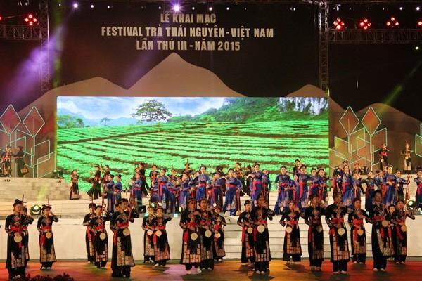 2015年第三次越南太原茶节开幕 - ảnh 1
