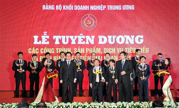 越共中央企业党委表彰2011-2015年优秀工程和先进典型 - ảnh 1