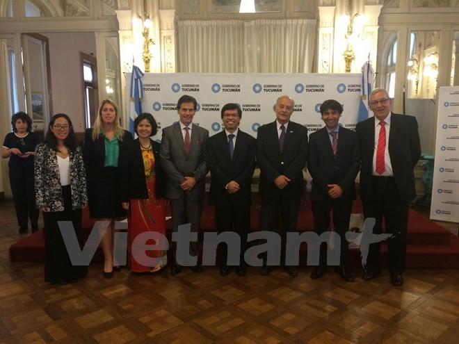 越南出席南方共同市场与东盟贸易交流促进活动 - ảnh 1