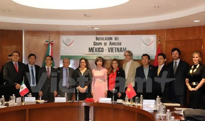 墨西哥-越南友好议员小组正式成立 - ảnh 1