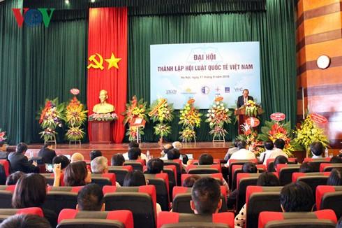 越南成立越南国际法协会 - ảnh 1