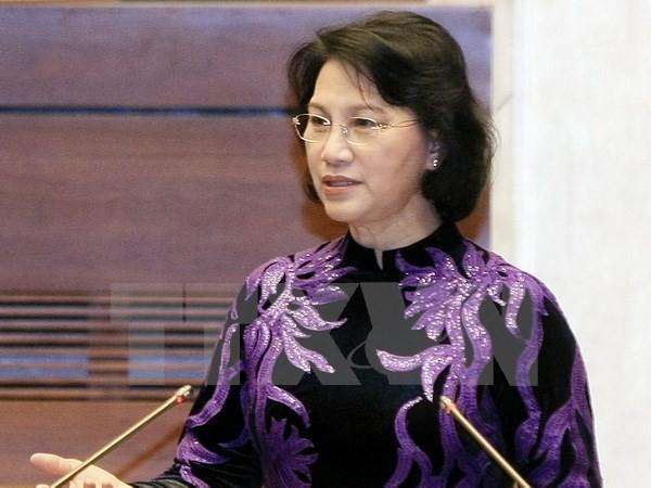 阮氏金银即将访问老柬缅三国并出席AIPA-37 - ảnh 1