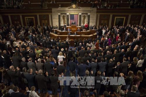 美国第115届国会开幕 - ảnh 1