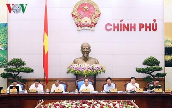 越南政府1月工作例会召开 - ảnh 1