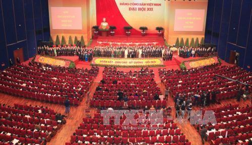外国政党就越南共产党成立87周年致贺电 - ảnh 1