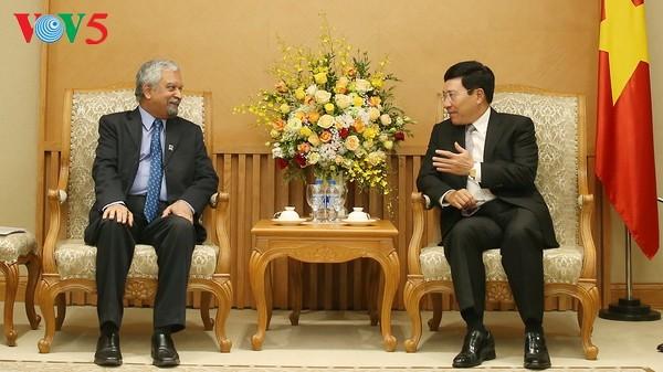 范平明会见联合国开发计划署驻越首席代表马尔霍特拉 - ảnh 1
