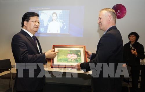 越南政府副总理郑庭勇对荷兰进行工作访问 - ảnh 1