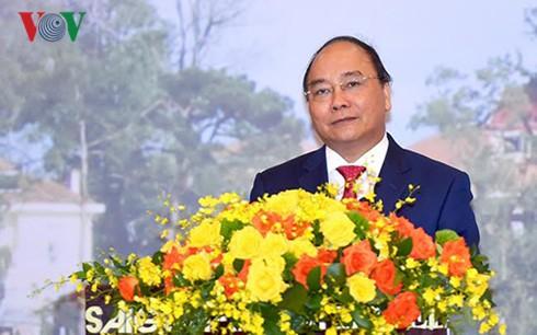 阮春福对老挝进行正式访问 - ảnh 1