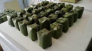 北宁省顺城县裴舍村炒米粉裹蒸肉 - ảnh 1