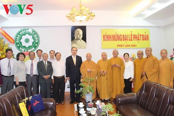 越南举行多项活动庆祝2017年佛诞节 - ảnh 1