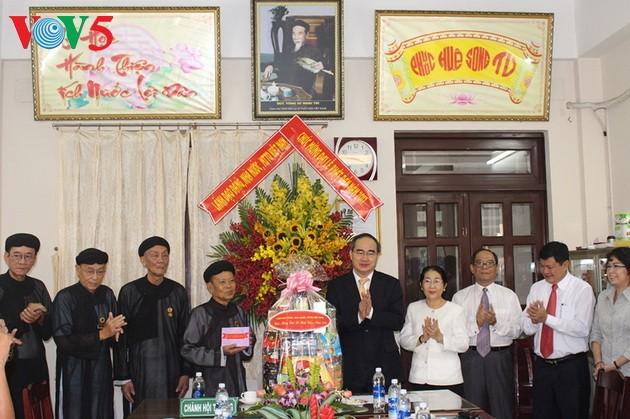 越南举行多项活动庆祝2017年佛诞节 - ảnh 2